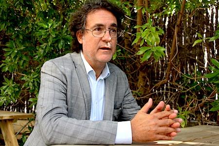 El guionista Manu Díez