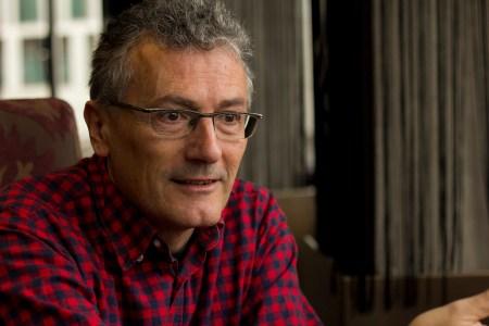 El guionista Carlos López.