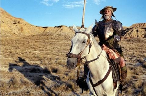 Un fotograma de Don Quijote de Terry Gilliam