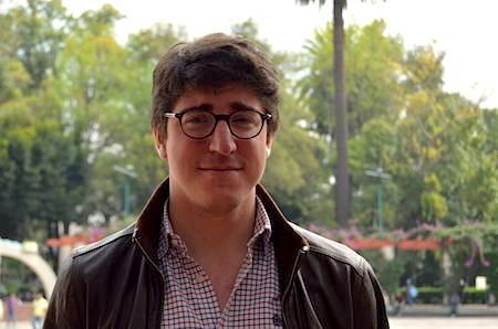 El guionista Miguel Hervás