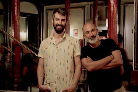 Los guionistas David Barrocal y David Oliva