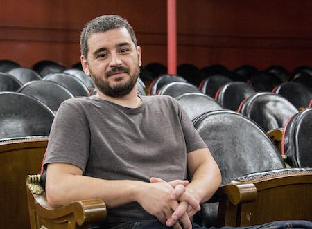 El guionista Natxo López