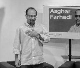 El guionista Asghar Farhadi