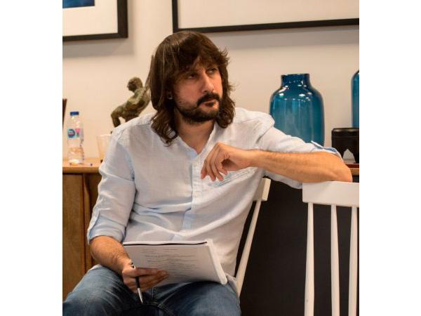El guionista David Orea. Foto David Mosquera