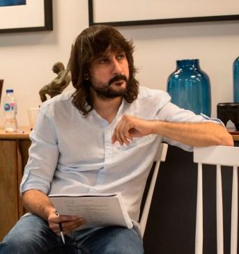 El guionista David Orea.