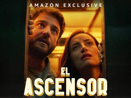 Gorka Otxoa y Marimar Vega en la película El Ascensor
