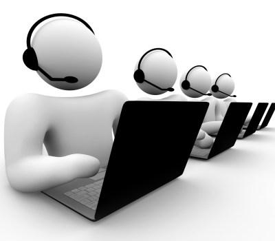 E o senzaţie unică să lucrezi într-un call center…