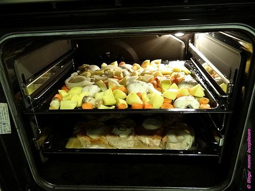 friptură cu legume la cuptor