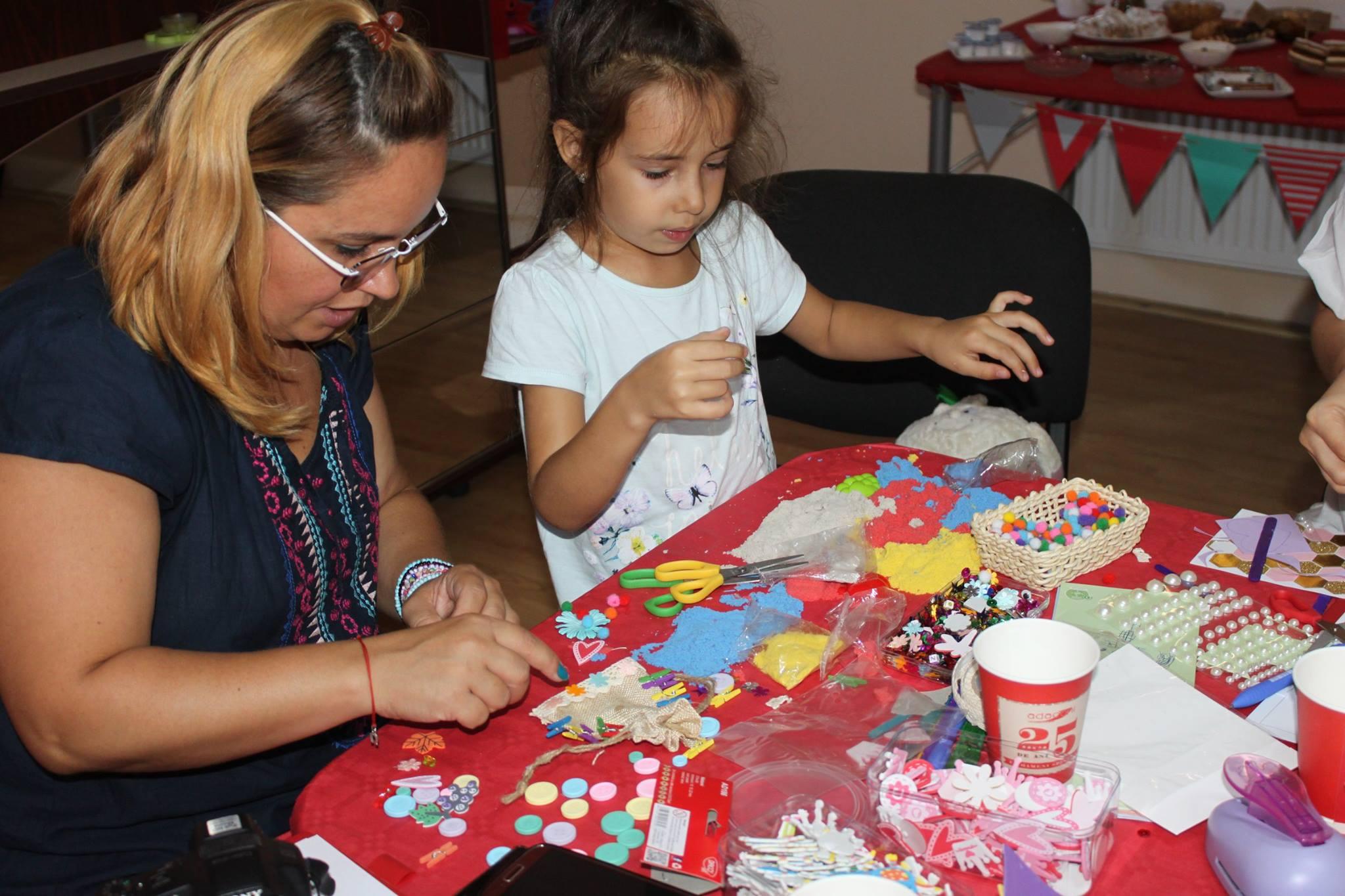 atelier de craft la sediul Adaconi - Daco - Hateg