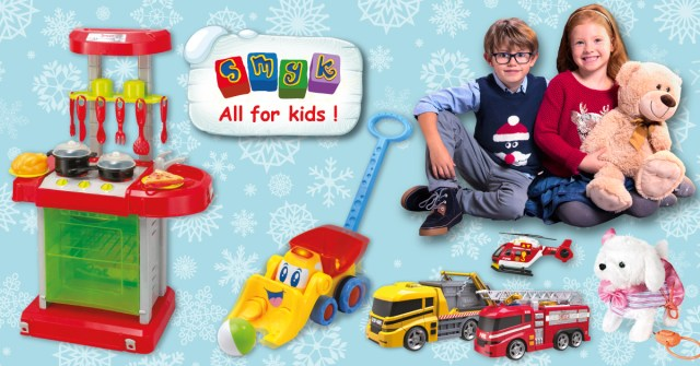catalog jucarii de Craciun SMYK ALL FOR KIDS
