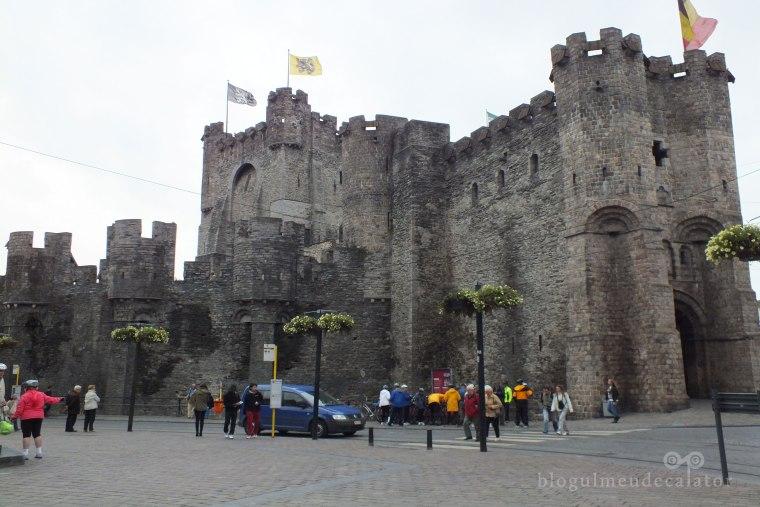 Castelul Gravensteen intrare