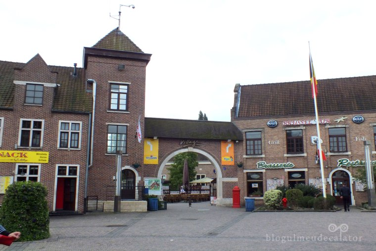mini europa bruxelles-intrarea