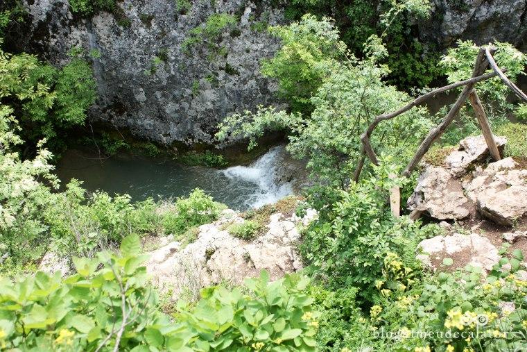 traseu prin canionul hotnitsa si cascada kaya bunar hotnitsa