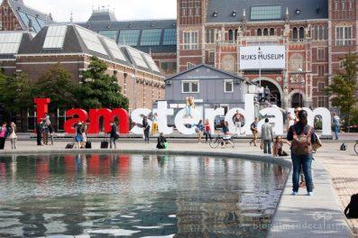 I amsterdam Holland