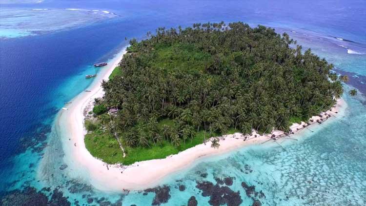 Tempat bulan madu di Indonesia - Pulau Banyak, Aceh