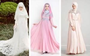 Inspirasi Baju Pengantin Muslimah