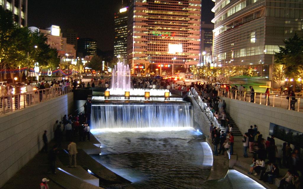 Fakta Sungai Cheonggyecheon di Korea