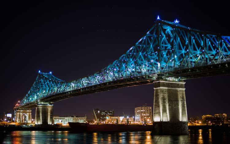 Jembatan Terindah Di Dunia - Jembatan Jacques Cartier