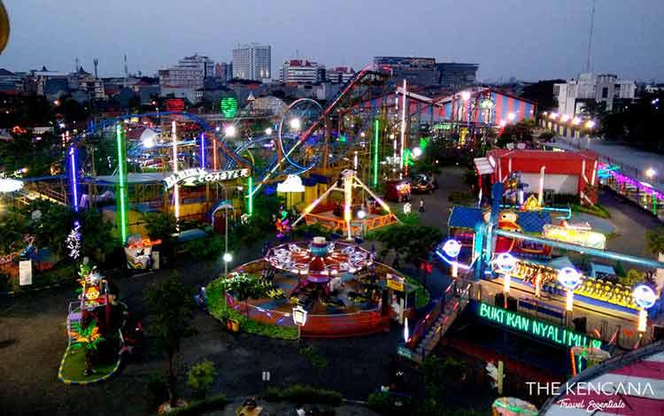 Taman Bermain Terbesar Di Indonesia - Suroboyo Carnival Park