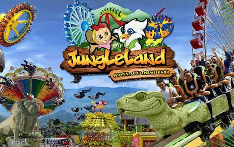 Taman Bermain Terbesar Di Indonesia - Jungleland Adventure Theme Park