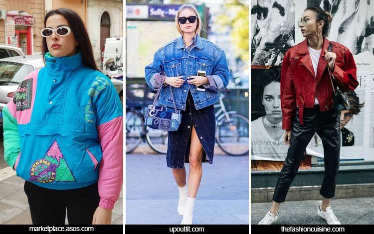 Trend Fashion Wanita 2019 - Jaket 80an