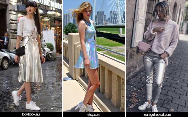 Trend Fashion Wanita 2019 - Shimmery Metallics