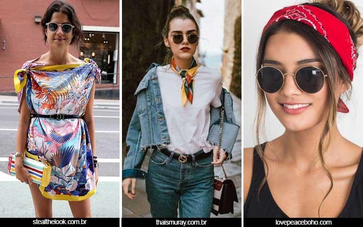 Trend Fashion Wanita 2019 - Scarf prints
