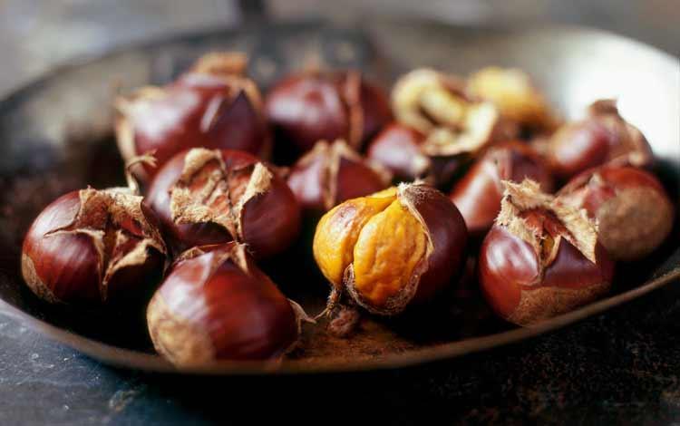 Makanan Dan Minuman Yang Identik Dengan Perayaan Natal - Chestnut