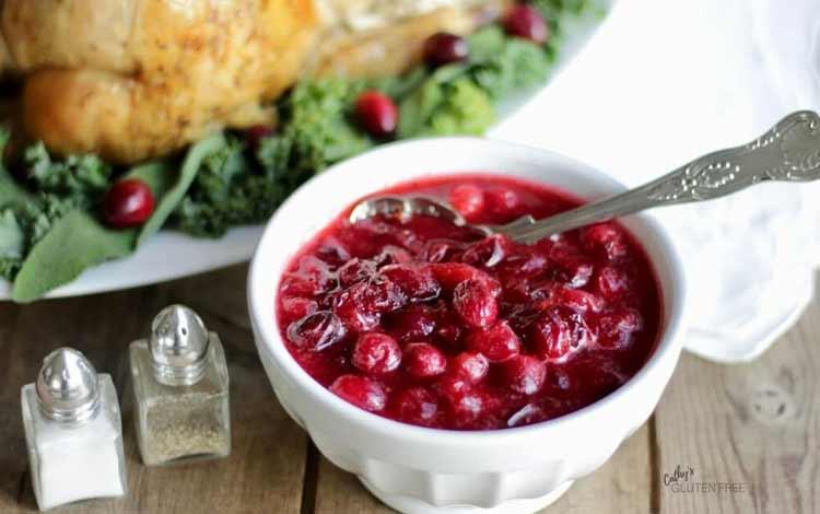 Makanan Dan Minuman Yang Identik Dengan Perayaan Natal - Cranberry Sauce