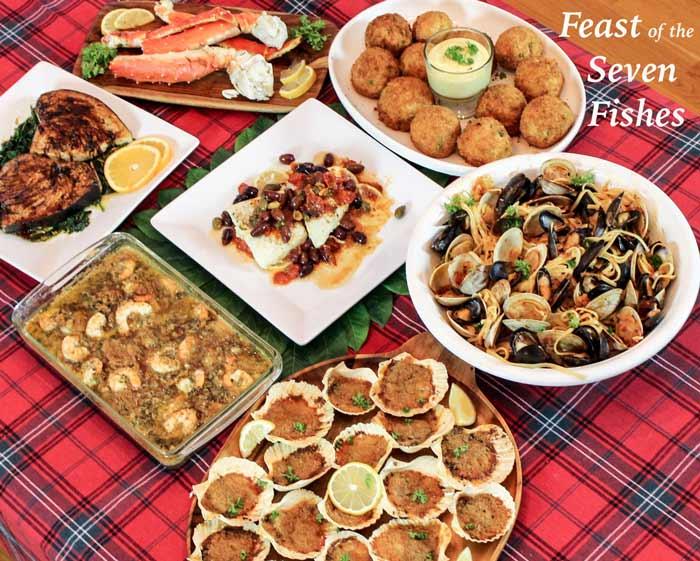 Makanan Dan Minuman Yang Identik Dengan Perayaan Natal - Feast of Seven Fishes