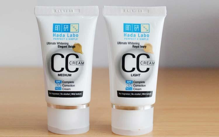Produk CC Cream Yang Bagus - Hada Labo CC Cream Ultimate Whitening