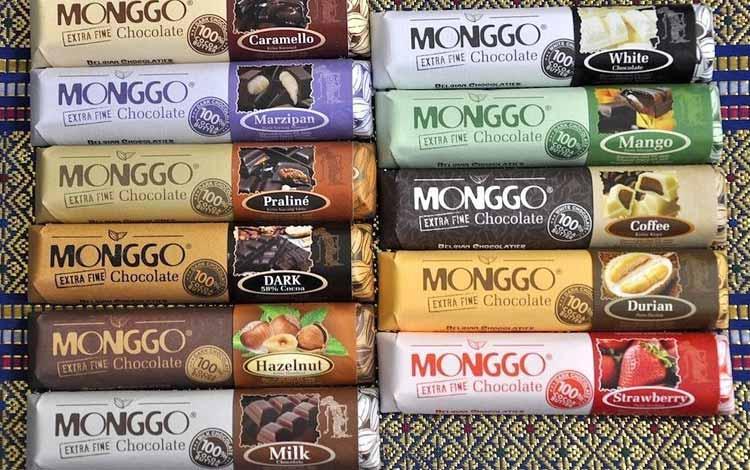Makanan Oleh-oleh Khas Jogja - Cokelat Monggo