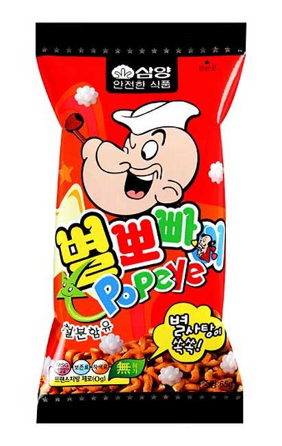 Snack Korea Yang Ada Di Indonesia - Samyang Star Popeye