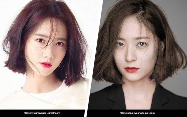 Artis Korea Yang Mirip - Yoona SNSD dan Krystal f(x)