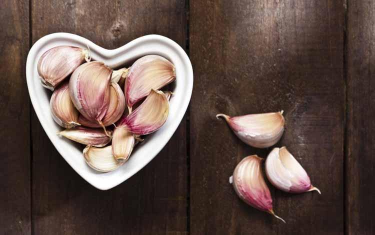 Makanan Untuk Kesehatan Jantung - Bawang Putih
