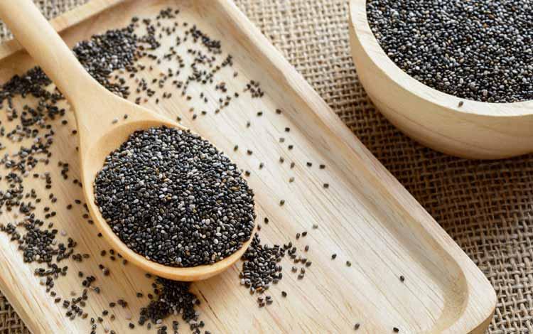Makanan Untuk Kesehatan Jantung - Chia Seeds