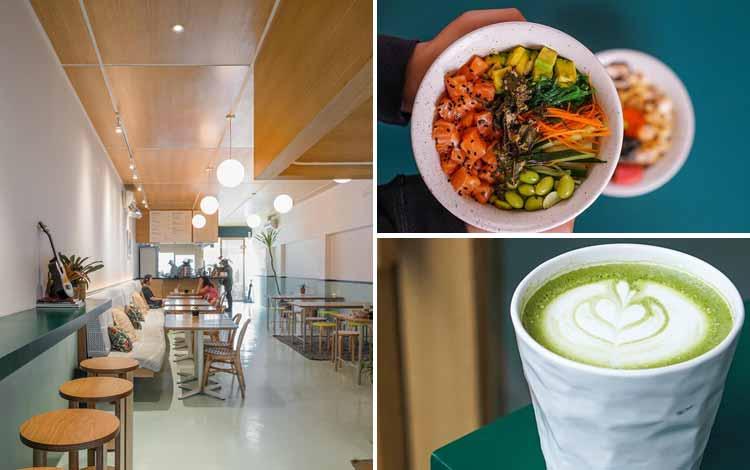 Restoran Makanan Sehat di Jakarta - Honu Poke & Matcha Bar