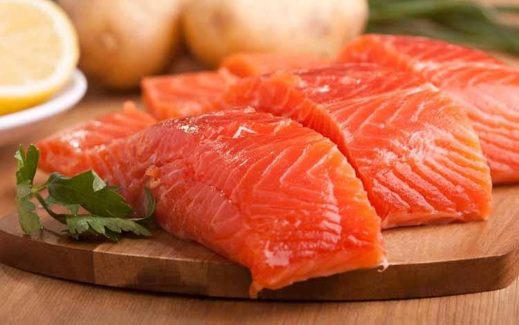 Makanan Untuk Kesehatan Jantung - Ikan Salmon