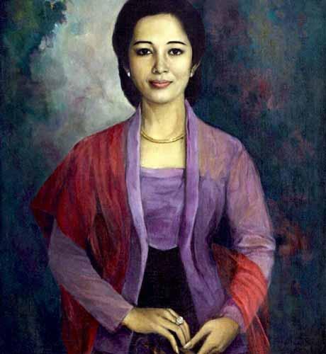 Daftar Lengkap Seluruh Istri Presiden Soekarno - Kartini Manoppo
