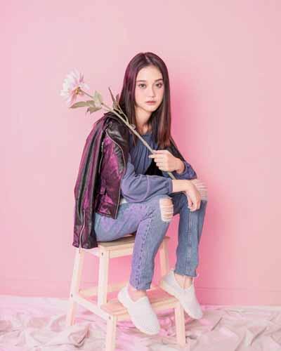 Daftar Pemain Sinetron Anak Langit SCTV Terlengkap - Esta Pramanita (Ayumi)