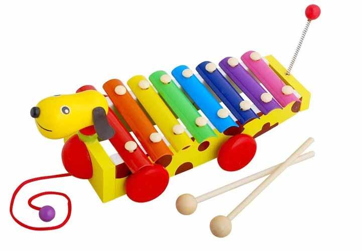 Rekomendasi Mainan Edukasi Untuk Bayi 6- 12 Bulan - Alat Musik