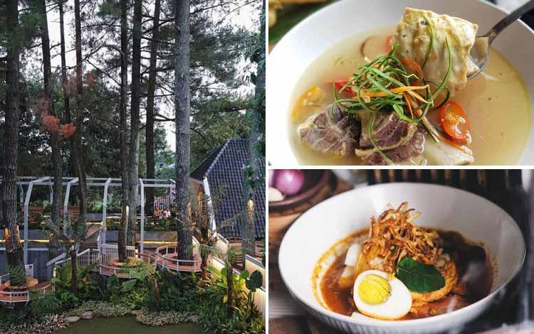 Restoran Dengan Nuansa Alam Di Bandung - Nara Park