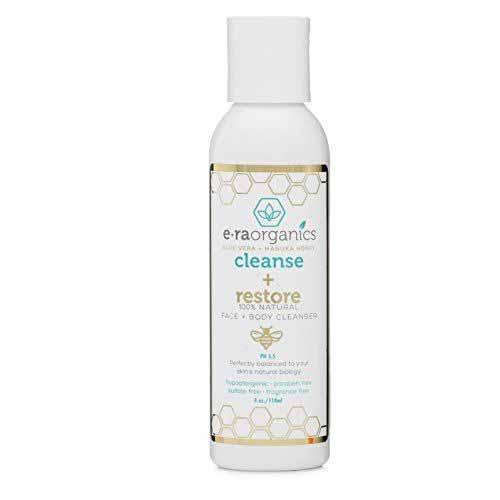 Sabun Wajah Yang Bagus Untuk Kulit Sensitif - Era Organics Cleanse + Restore Natural Face and Body Wash