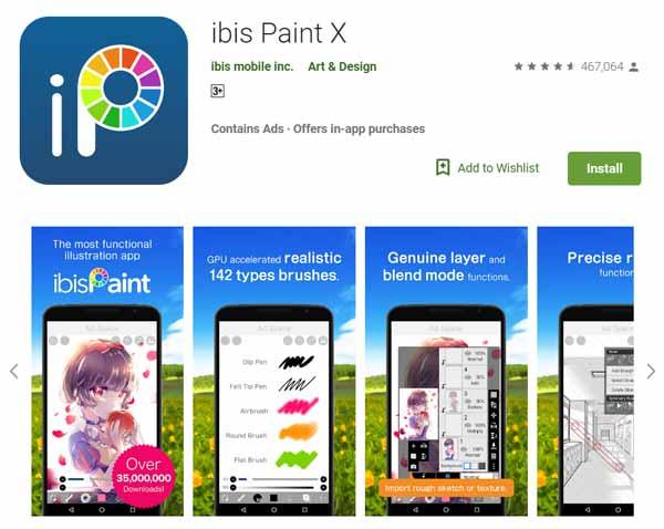 Daftar-Aplikasi-Menggambar-Terbaik-di-Android-ibis-Paint-X