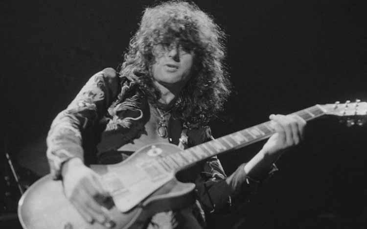 Gitaris Terbaik dan Terhebat Di Dunia Dengan Skill Tingkat Dewa - Jimmy Page