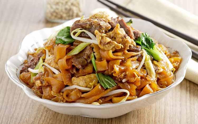Daftar Makanan Khas China Terlezat - Kwetiau