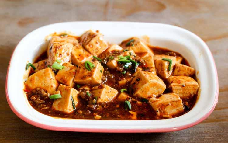 Daftar Makanan Khas China Terlezat - Tahu Ma Po