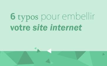 Typographies pour ambelir votre site internet et garder une bonne expérience utilisateur