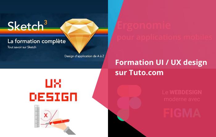 Formation UX tuto - Formation UI / UX design sur Tuto.com