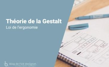 Théorie de la Gestalt : loi de l'ergonomie